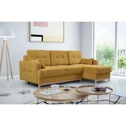 Диван-кровать ZANTE коричневый