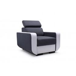 Кресло ENZO серый