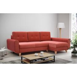 Диван-кровать BUENO красный