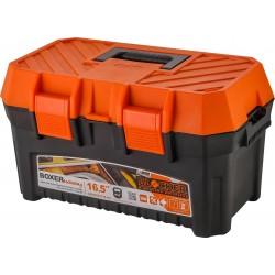"""Ящик для инструментов BOXER Economy 16,5"""" черный/оранжевый"""