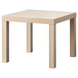 придиванный столик ЛАКК под березу 55х55см 103.364.55