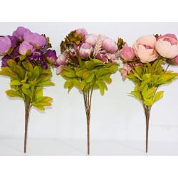 искусст./цветы Букет Пионов в асс. HZ4-5-1