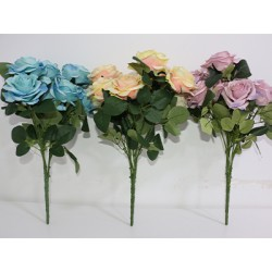 Искусст./цветы Букет роз в асс. 50см HZ4065