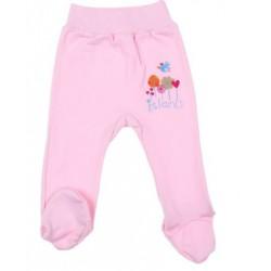 """Позунки для девочки на поясе """"Птичка"""", рост 74 см (44), цвет розовый 3557   1329018"""
