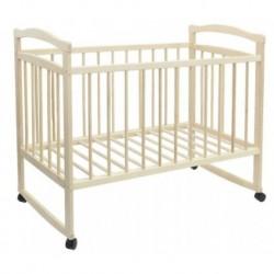 Детская кроватка «Колибри Эко-2» на колёсах или качалке, цвет берёза