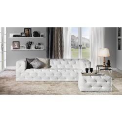 диван 3-х местный SEVILLA - белый